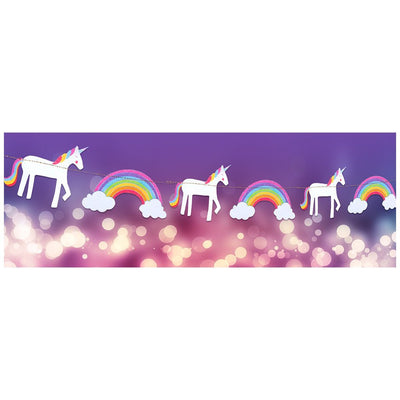 Garlands - Party - Unicorn with Rainbows - Great Pretenders