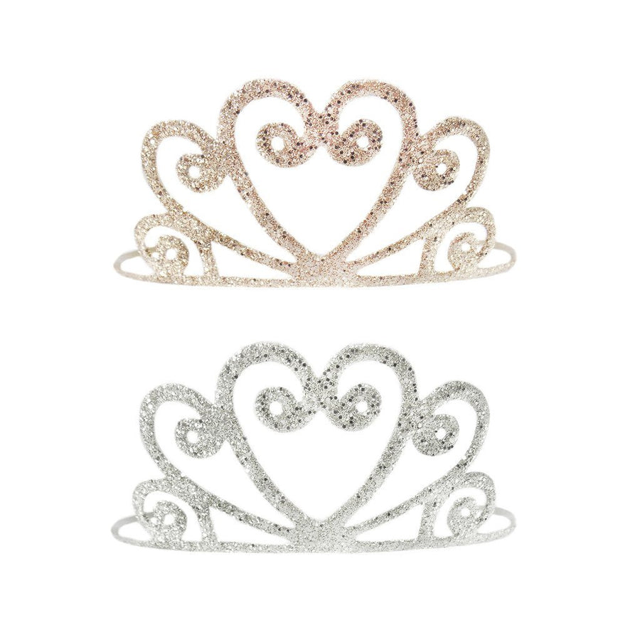 Gold or Silver Glitter Tiara - Great Pretenders