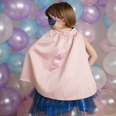 Super-duper Tutu/Cape/Mask, Pink & Navy