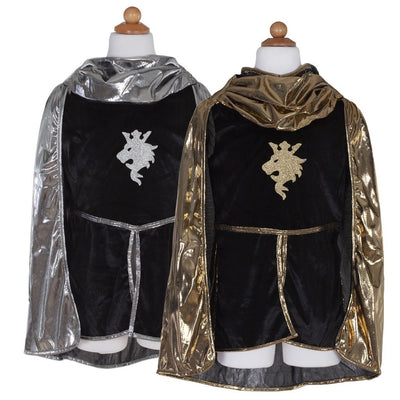 Knight Set Gold with Tunic, Cape and Crown - Great Pretenders