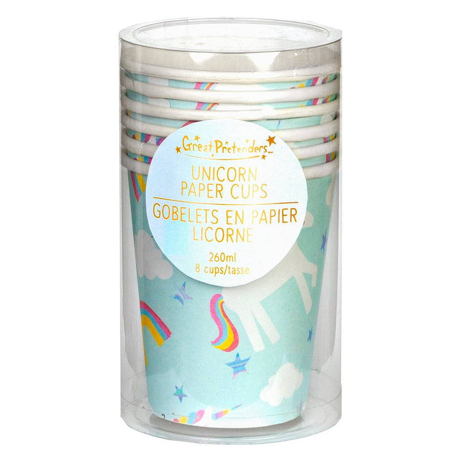 Cups - Party - Unicorn (8 pcs) - Great Pretenders