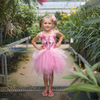 Fancy Flamingo Dress & Headband