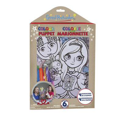 Colour-A-Puppet Set - Great Pretenders