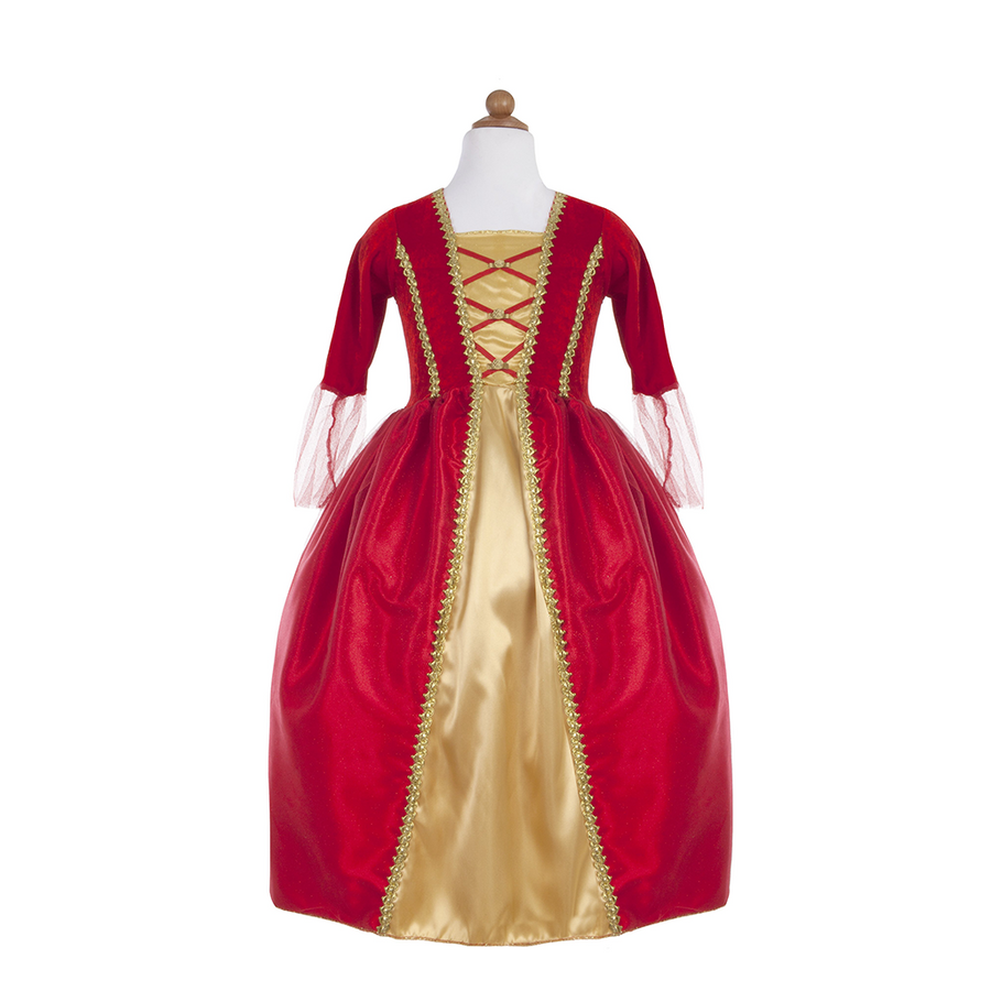 Royalty Gown (Burgundy, Red or Turquise)