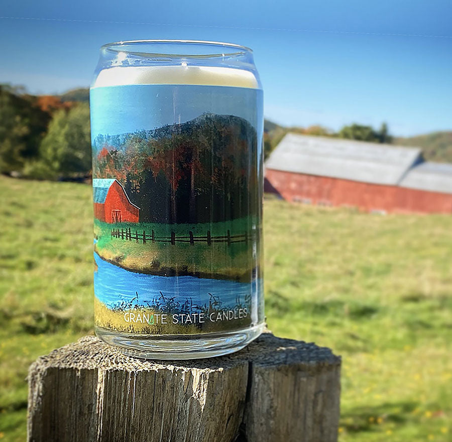 Fall Farm Empty Glass