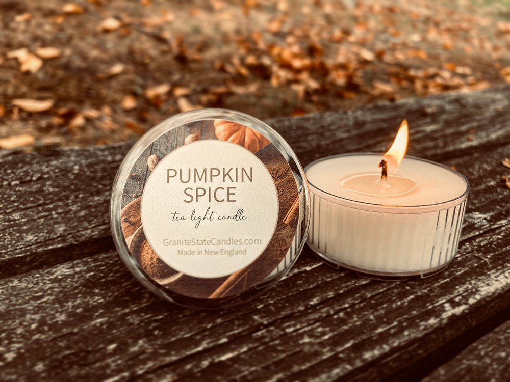 Pumpkin Spice - Tea Light