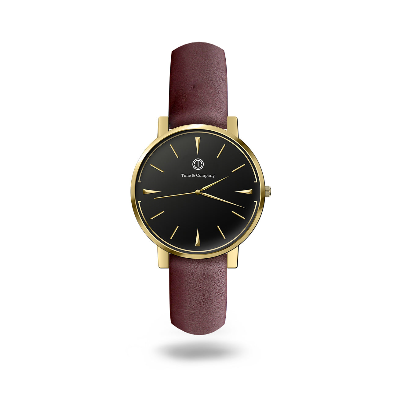 Tomorrow & Adventure Unisex Black/Brown Wrist Watch - Time and Company