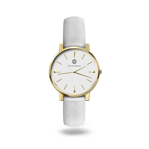 Life & Passion Unisex White/White Wrist Watch - Time and Company