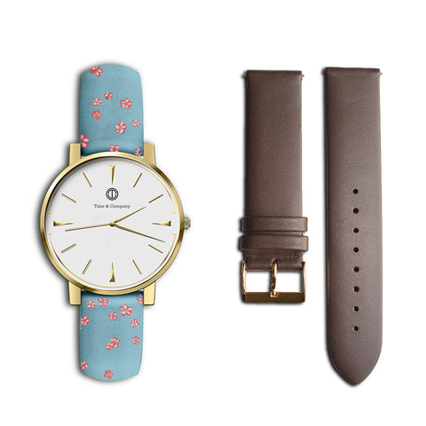 Frida – BUNDLE (2 watch bands) Wrist Watch - Time and Company