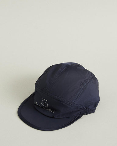 Logo Face Nylon Cycle Cap