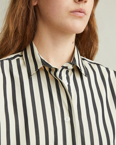Capri Button-Down Blouse