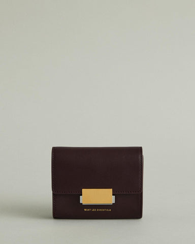 Luka Buckle Leather Belt Bag