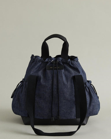 CESAIRE DENIM BUCKET BAG