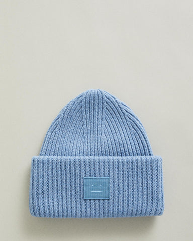 Rib Knit Face Hat