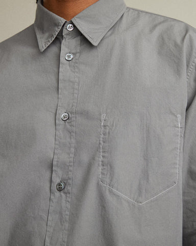 Lightweight Long Sleeve Shirt With Inverted Pocket