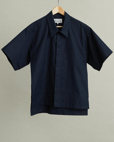 Heavy Popeline Short Sleeve Shirt