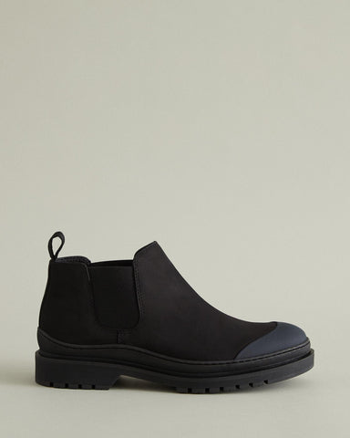 wellington mid chelsea boot
