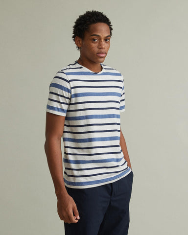 CONDUIT STRIPED T-SHIRT