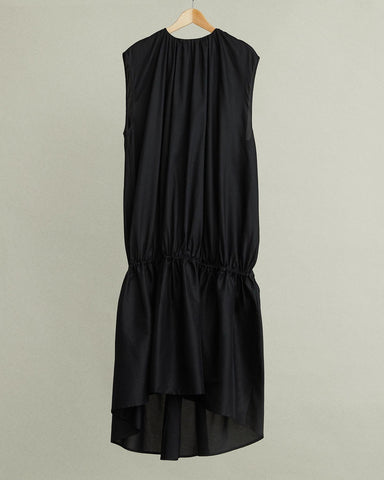Pretoria Voluminous Sleeveless Maxi Dress