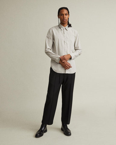Wide Leg Pintuck Trousers