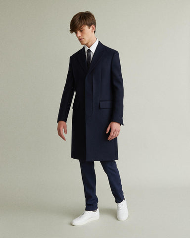 double cloth coat