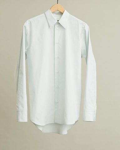 Tin Cotton Poplin Long Sleeve Shirt