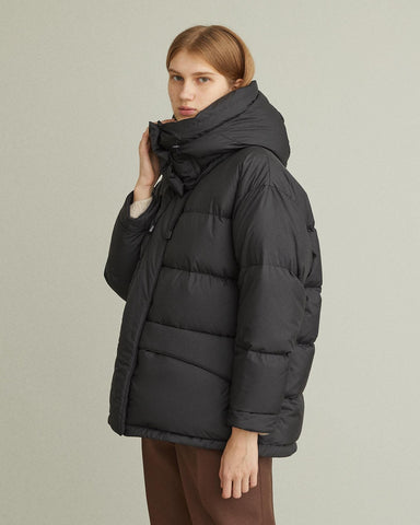 Oversized Hooded Puffer Jacket