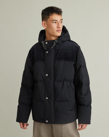Orfeo Canvas Puffer Jacket