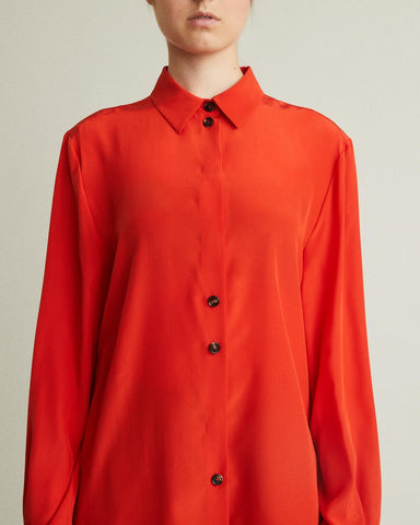 Nicki Long Sleeve Silk Blouse