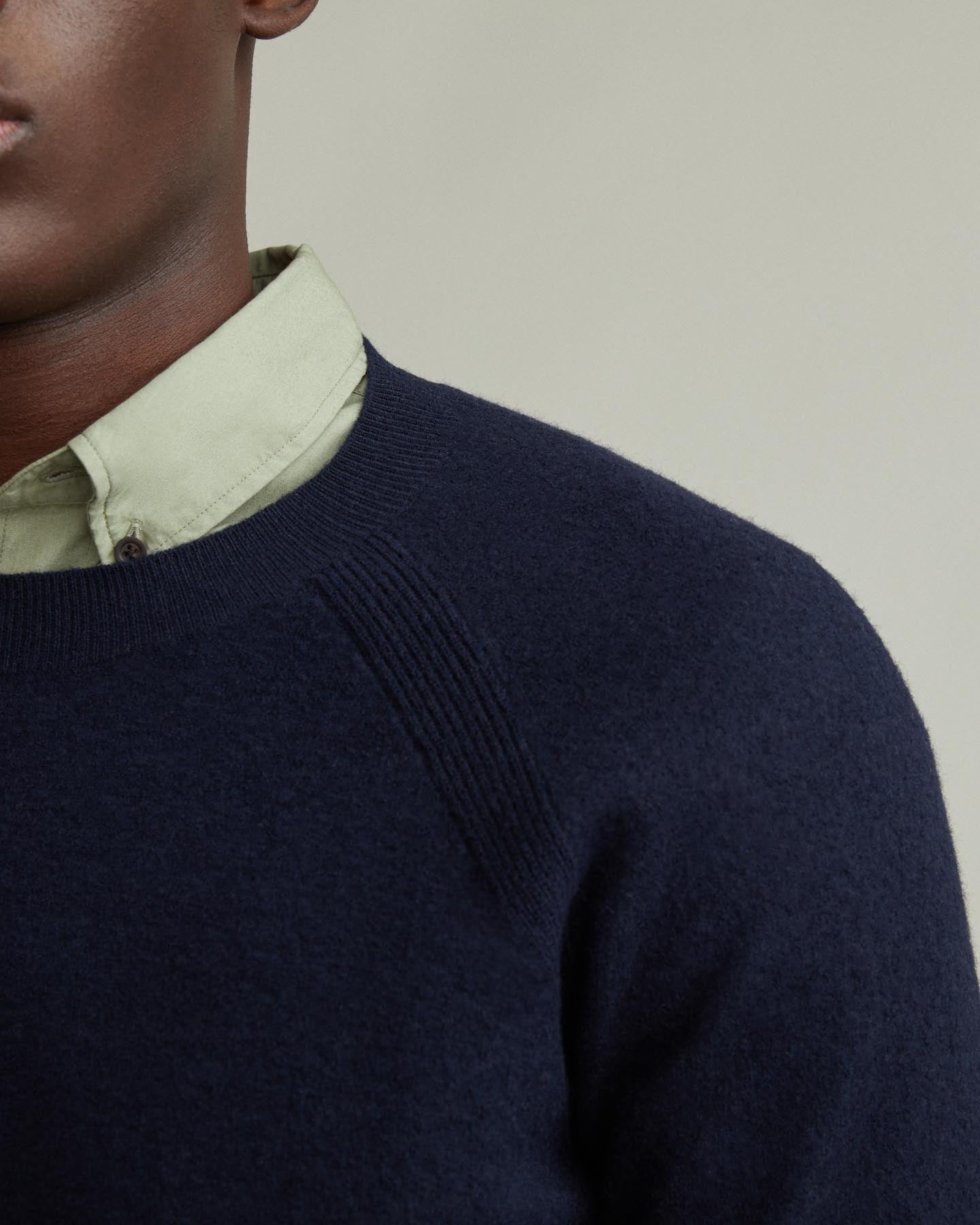 88f72517c624 Boiled Wool Crew Neck Sweater – WANT Apothecary UK