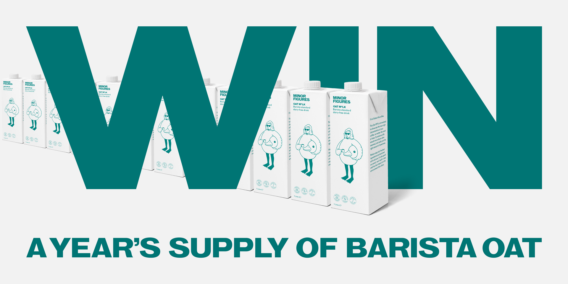 Win a Year's Supply of Barista Oat