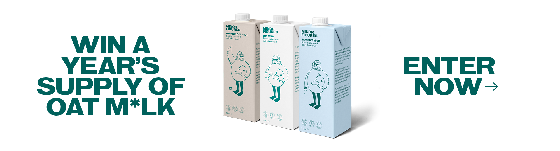 Win a Year's Supply of Oat Milk