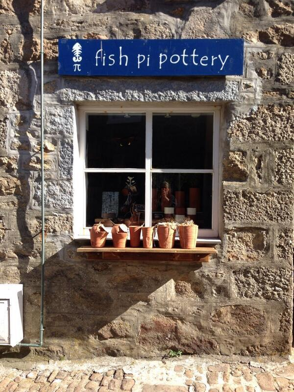 Fish Pi Pottery shop front