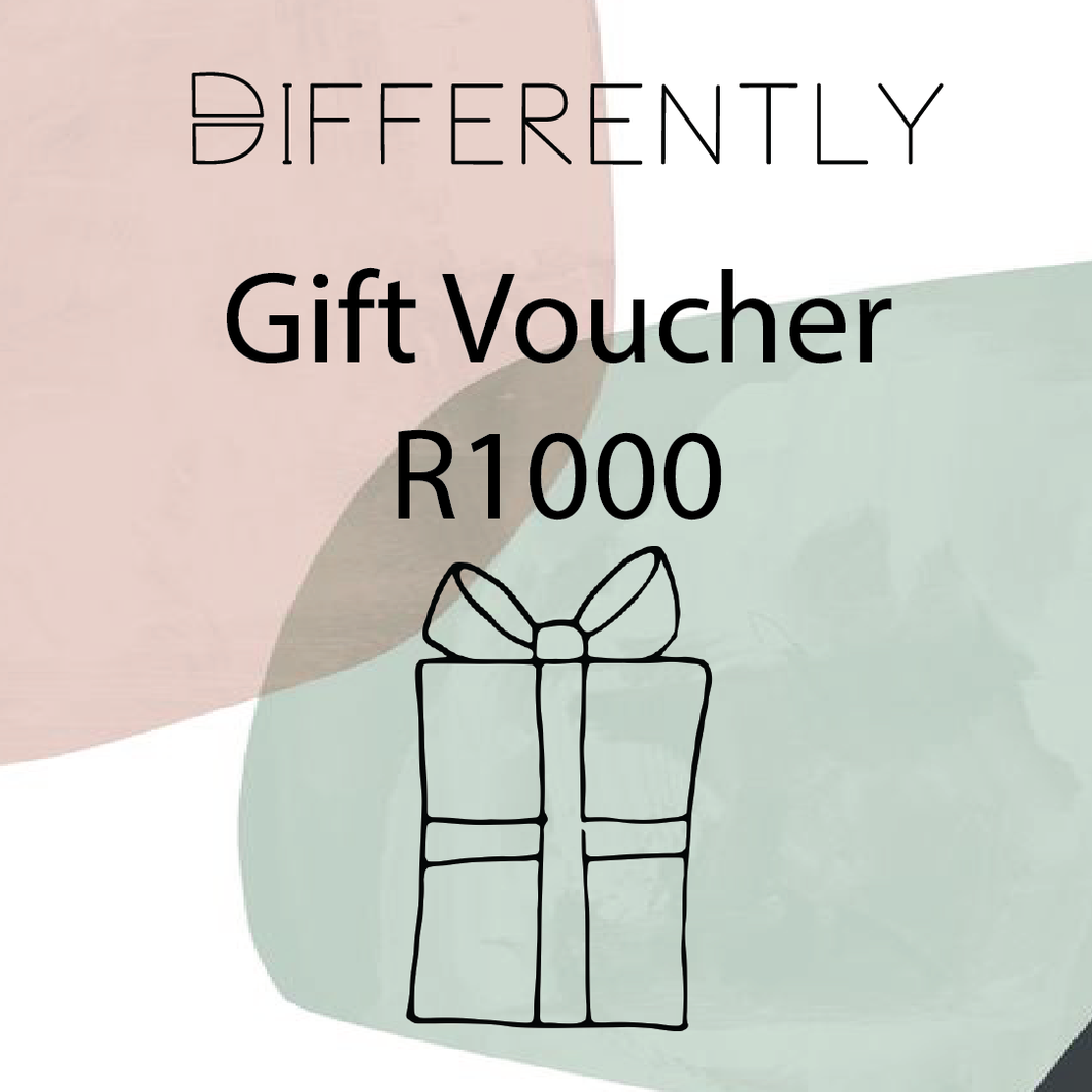 R1000 Gift Card - Differently