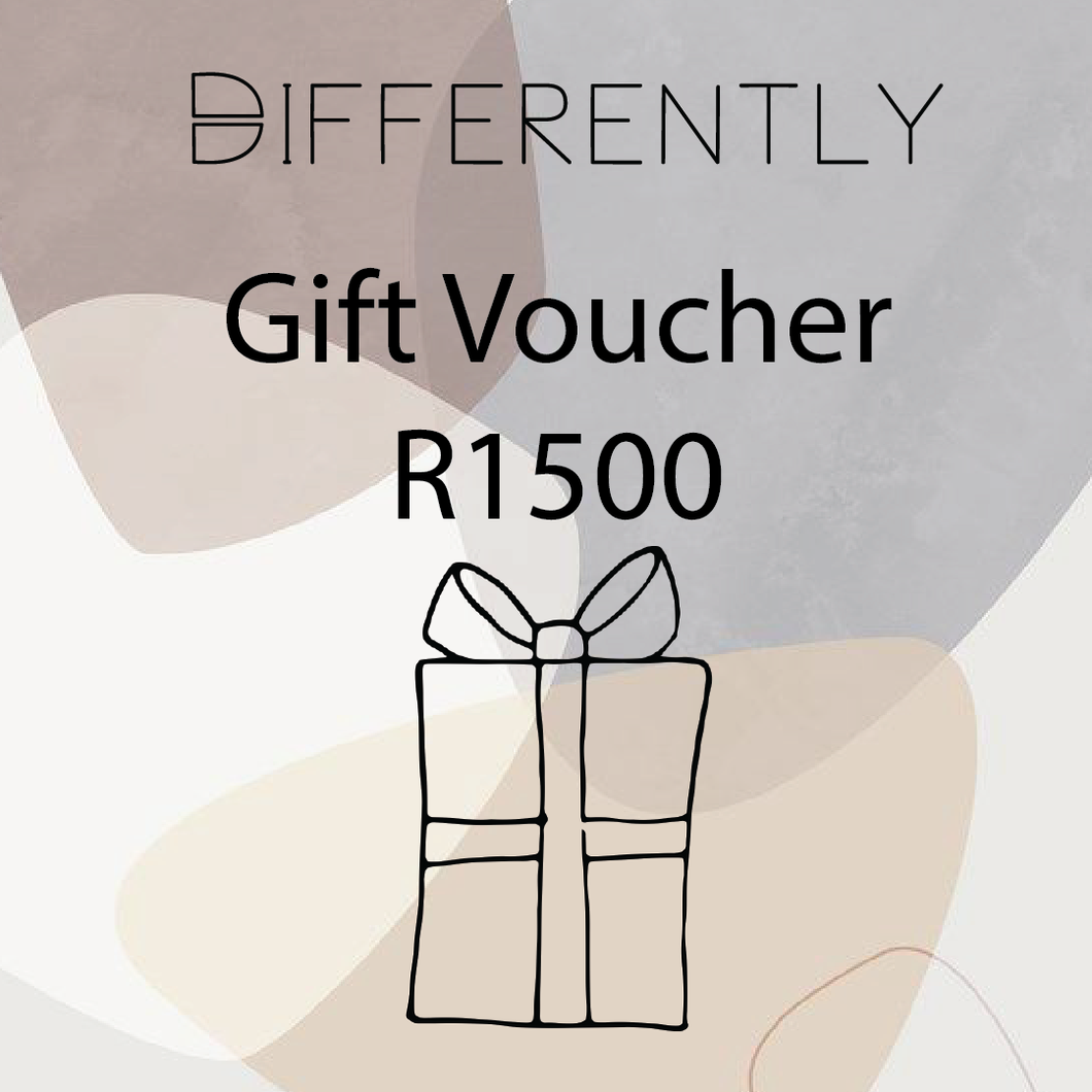 R1500 Gift Card - Differently