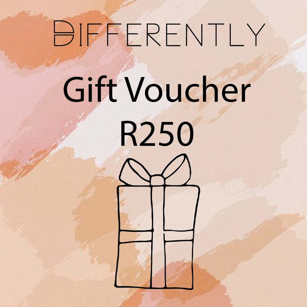 R250 Gift Card - Differently
