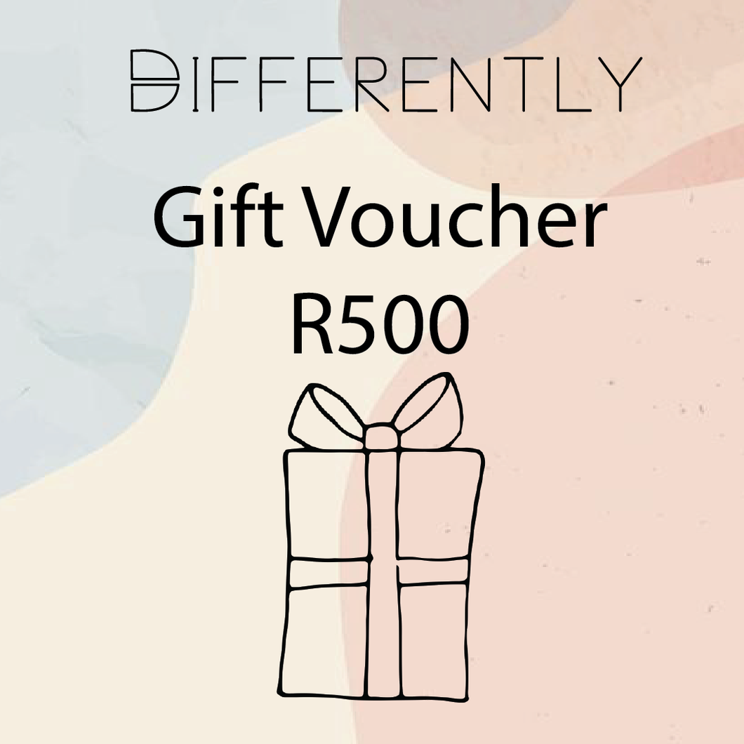 R500 Gift Card - Differently