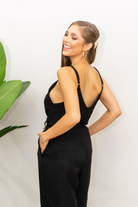 Queening Jumpsuit - Black