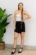 Load image into Gallery viewer, Boss Babe Mini Skirt - Black
