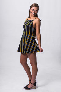 Beach Playsuit - Stripe