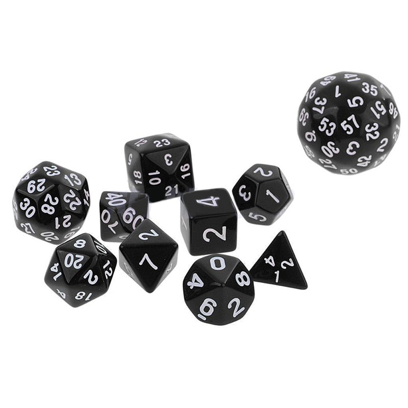 High Quality 10Pcs Dices