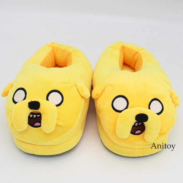Adventure Time Plush Slippers