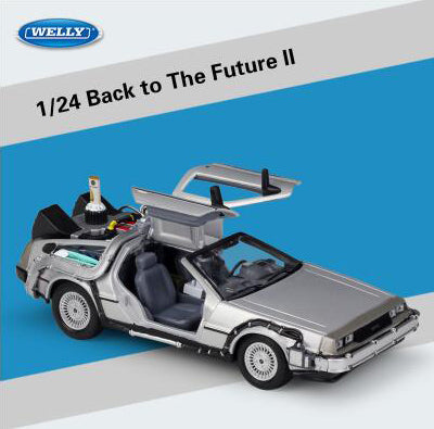 Delorean Model Toys 1/24 Scale Time Machine