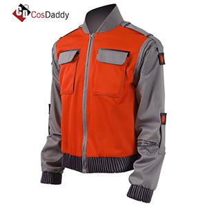 Back To The Future Cosplay Marty McFly Jacket