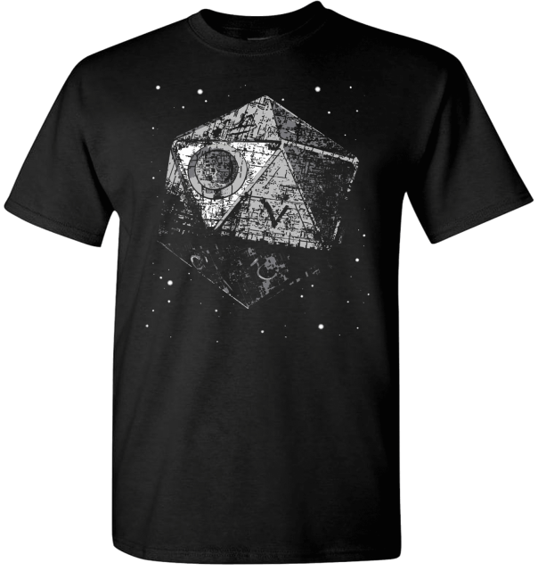 Dungeons and Dragons T Shirt Death Star