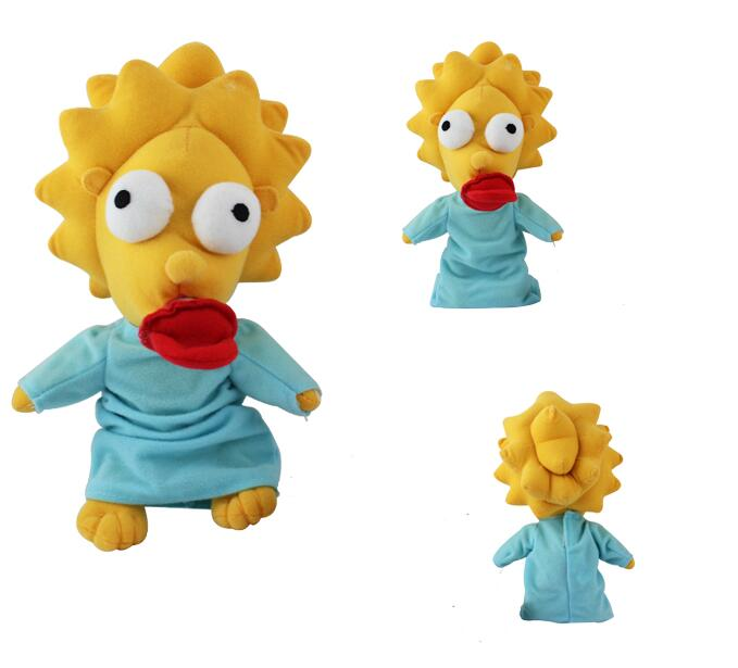 Simpsons  Maggie plush