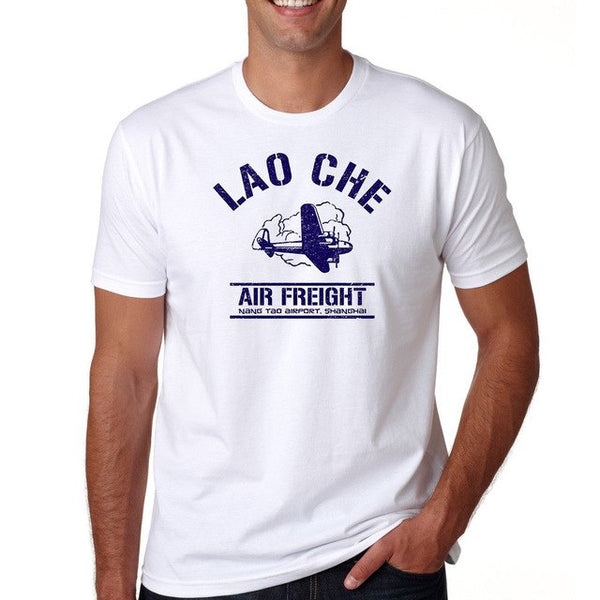 Lao Che Airlines Indiana Jones  T Shirt