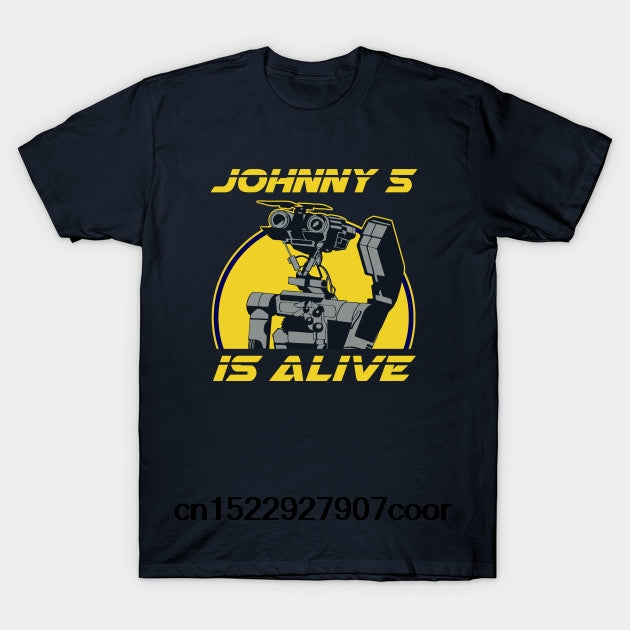 Johnny 5 is alive T-Shirt