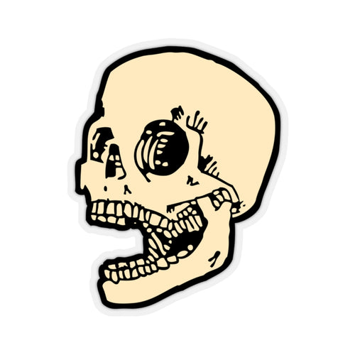 Laughing Skull Sticker