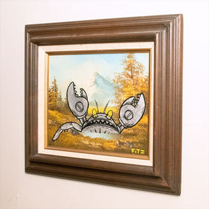 "The Giant Robot Crab! - 15"" x 13"""